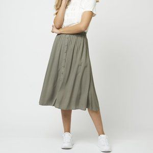 Soyaconcept Radia Skirt in Army Green